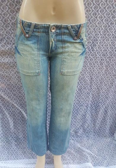 Calça Jeans Urban Style Famel Capri Tam 38