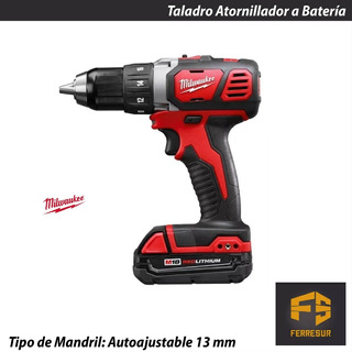 Taladro Atornillador Inalambrico 18v 13mm Milwaukee 2606-259