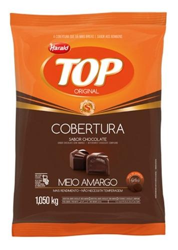 Imagen 1 de 2 de Chocolate Cobertura Semi Amargo Harald Top Por 1 Kilo