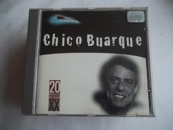 *cd - Chico Buarque - 20 Musicas Do Seculo 20 - Mpb Cantor
