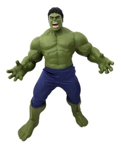 Boneco Hulk Esmaga! Gigante 50cm Filme Vingadores  Mimo 565
