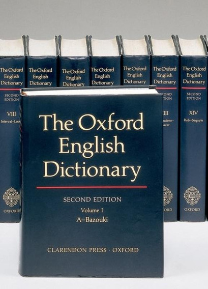 The Oxford English Dictionary - 20 Volumes - Second Edition