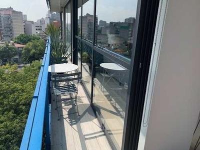 Renta Depto Totalmente Amueblado Y Equipado En La Condesa
