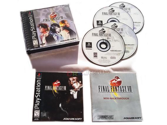 Final Fantasy Viii 8 Original Americano Completo Sem Juros