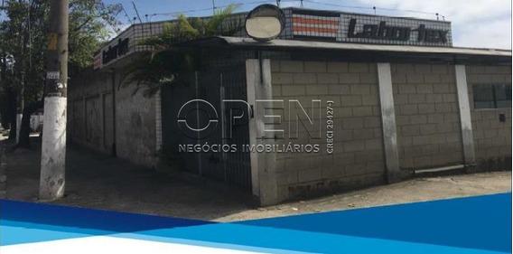 Galpão Comercial Para Locação, Campestre, Santo André - Ga0039. - Ga0039