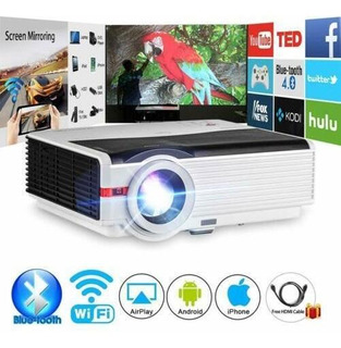 Led Bluetooth Proyector Smart Android Wifi Home Theater-2609