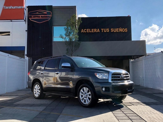 Toyota Sequoia Platinum 2016 4x4 Camioneta Equipada V8 At Qc