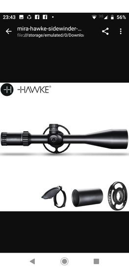 Luneta Hawke Sidewinder 30 6-24x56 Ir