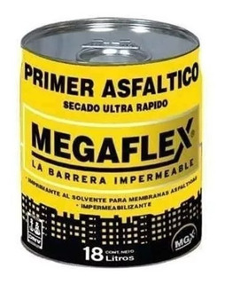 Pintura Asfaltica Megaflex Base Solvente X 18lts Pintumm