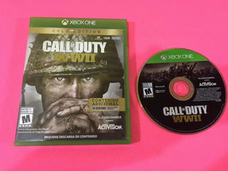 Call Of Duty Wwii Gold Edition Xbox One (game Army)