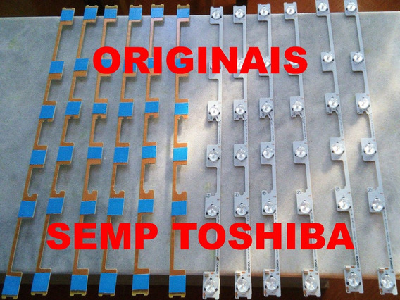 Kit Barramento Led Dl4844, 48l2400, Semp Toshiba