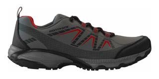 Zapatillas Montagne Ecoalps Urbana Negro/rojo