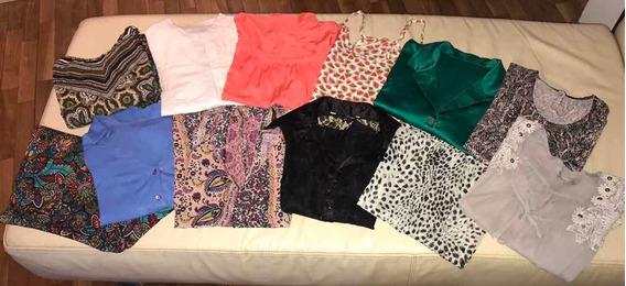 Lote Mujer - Talle M- 12 Prendas(11 Blusas-1 Pantalón
