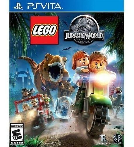 Lego Jurassic World - Ps-vita Mídia Física Lacrado