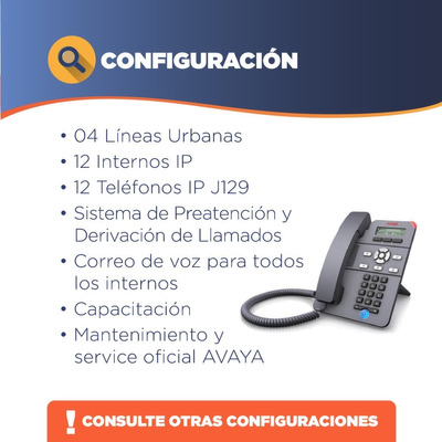 Avaya - Alquiler Central Telefonica Ip Office 500