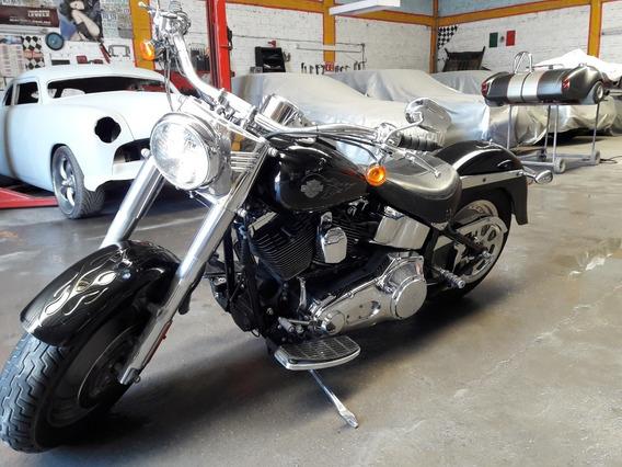 Moto Harley Davidson Fatboy Chopper 2005