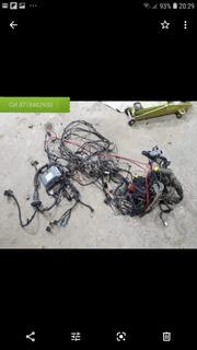 Cableado+fusiblera+ecu+llave Gol Power