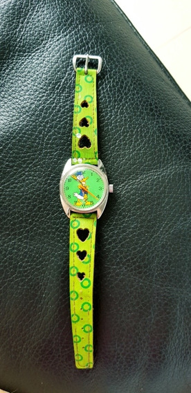 Relógio Donald Feminino, Raridade, Anos 80