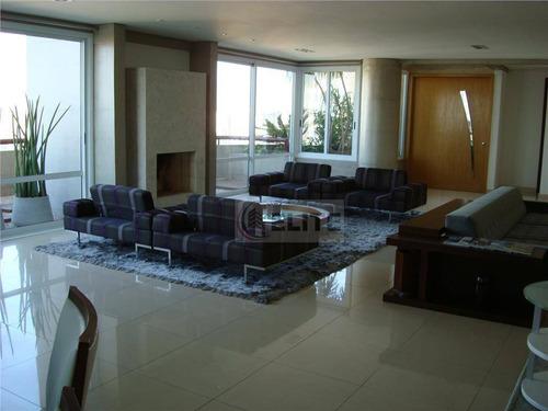 Cobertura Com 4 Dormitórios À Venda, 550 M² Por R$ 5.499.000,00 - Jardim - Santo André/sp - Co0023