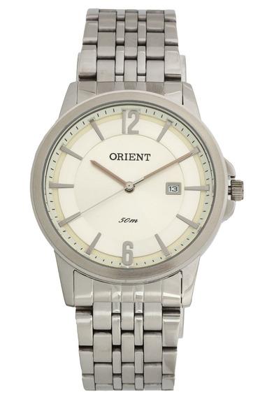 Relógio Orient Mbss1242 S2sx Prata Original