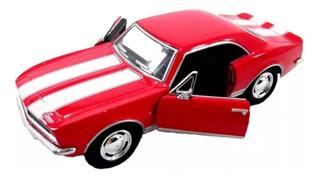 Miniatura Chevrolet Camaro 1967 Z/28 -vermelha -1:37