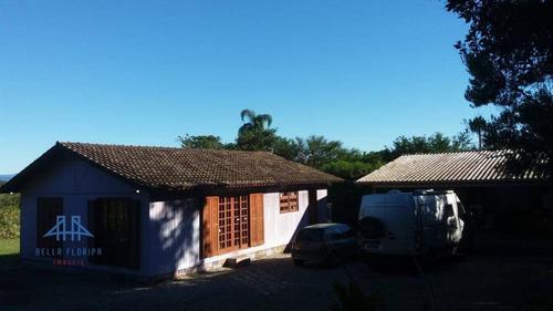 Imagem 1 de 10 de Chácara Com 3 Dormitórios À Venda, 12800 M² Por R$ 1.299.800,00 - Vargem Pequena - Florianópolis/sc - Ch0004