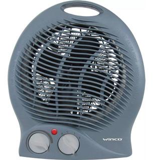 Caloventor Electrico Winco Termostato Bajo Consumo Apto Baño