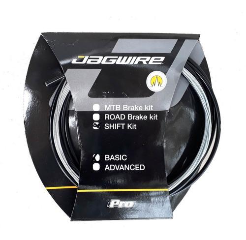 Kit Cables Y Fundas Jagwire P/ Cambios Bici Ruta / Mtb Basic