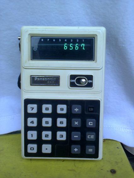 Calculadora Vintage Panasonic Je-880u - Déc. 70 (veja Vídeo)