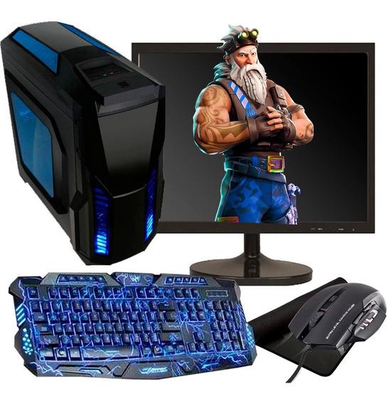 Pc Gamer I3 /8gb Ram/ Hd 500gb/gt 710/monitor 19/kit Gamer