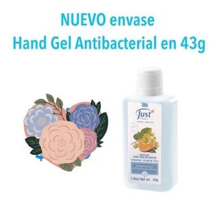 Alcohol En Gel De Naranja Con Flores De Tilo (43g) Just