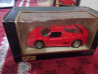 Miniatura Ferrari F50 Escala 1:43 Na Caixa Original