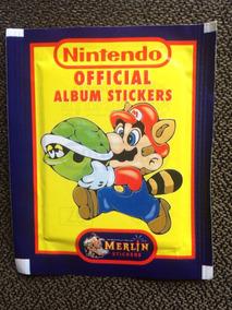 Envelope Lacrado Album Americano Nintendo 1992