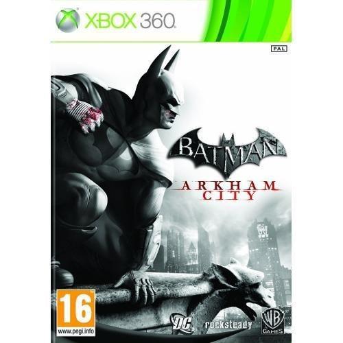 Batman Arkham City - Xbox 360 Mídia Física