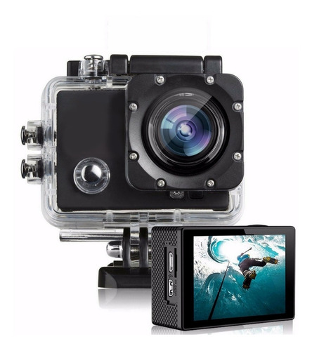 Action Camera Go Sport Pro Lcd Prova D'agua