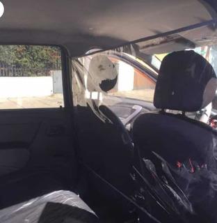 Proteccion Antibacterial Para Auto Transparente Uber Taxi
