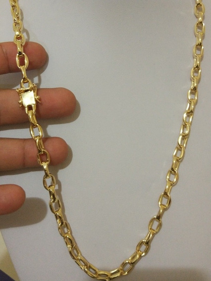 Corrente Cartier De Moeda Antiga Oca Banhada A Ouro 18k
