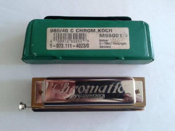 Armónico Hohner Koch Chromatic
