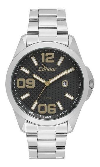 Relógio Condor Masculino Co2115ksy/k3c Kit Pulseira De Couro