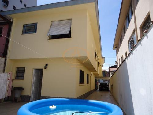 Sobrado  Com 4 Dormitório(s) Localizado(a) No Bairro Aparecida Em Santos / Santos  - 6601