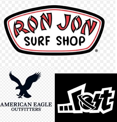 Short Bermudas T/d Baño Surf Hombre Ae / Lost/ Ronjon Leer