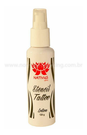 Stencil Tattoo Transfer Nativus Care Tatuagerm + Brinde