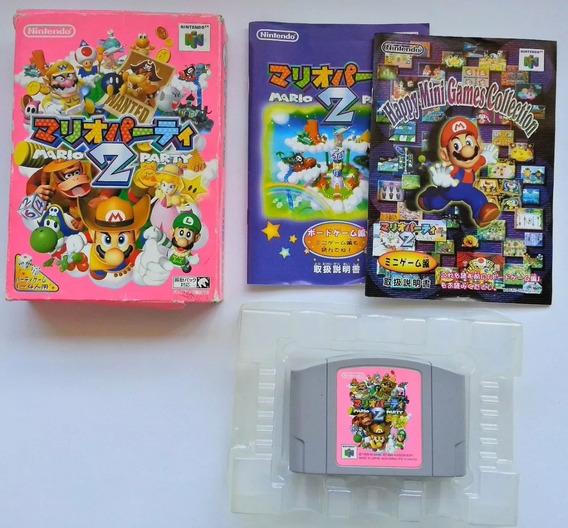 Mario Party 2 Original - Nintendo 64