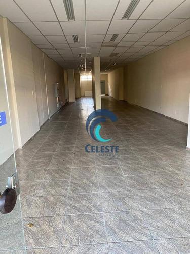 Imagem 1 de 1 de Salão Para Alugar, 159 M² De Área Útil - Centro - Sl0318