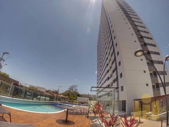Apartamento Com 3 Dormitórios À Venda, 67 M² Por R$ 299.000,00 - Gruta De Lourdes - Maceió/al - Ap0560