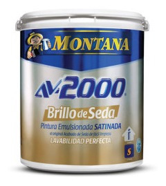 Pinturas Montana Av-2000 Brillo De Seda Marfil Suave
