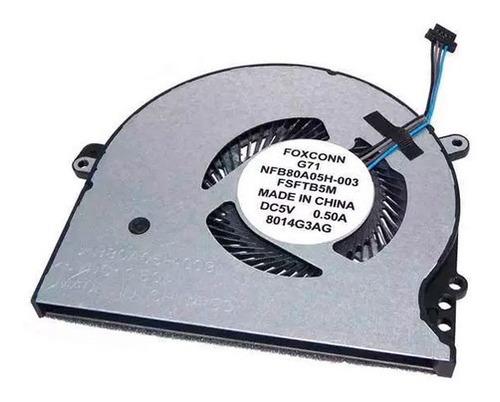 Ventilador Hp 15-cc 15-ck 14-bk 14-bp Pn: 927918-001 Nuevo