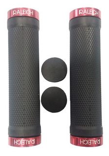 Puños Bicicleta Grips Gel Raleigh Con Lock On - Racer Bikes