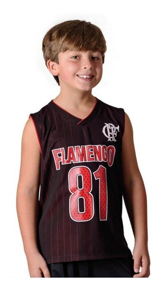 Regata Flamengo Infantil Drive Braziline
