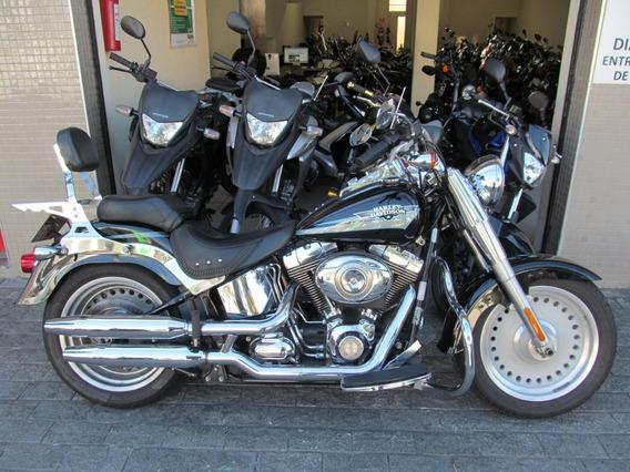 Harley Davidson Fat Boy 2010 Preta